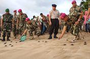 165 Ekor Tukik Sisik dan Lengkang Dilepas di Pantai Selatan Malang
