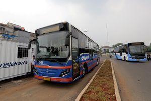 17 Agustus 2017, Warga Gratis Naik Bus Transjakarta di Semua Koridor