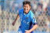 Dalam Usia 50 Tahun, Legenda Jepang Jadi Pencetak Gol Tertua di Dunia