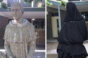 Diolok-olok Netizen, Patung di Sekolah Katolik Ditutup Kain
