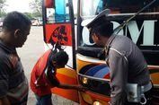 Ada Roda yang Tak Berbaut, Dua Bus di Grobogan Dilarang Beroperasi