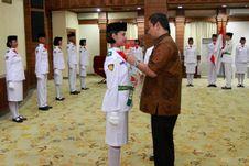 Walikota Semarang Lantik 27 Paskibraka