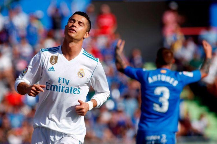 Ciptaan Kesatuan Spanyol Gol Cristiano Ronaldo Menangkan Nyata Madrid