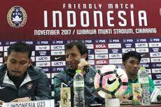 Indonesia Takluk dari Suriah, Milla Tetap Senang dengan Permainan Tim