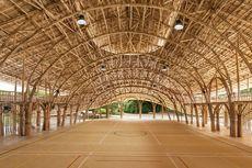 Sekolah Ini Dibangun dari Bambu dan Tali