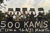 Berita Foto dan Video: Aksi Kamisan Ke-500, Masih Menagih Janji Jokowi