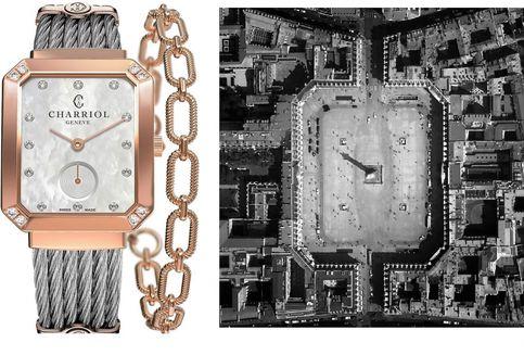 Keindahan Place Vendome dalam Arloji Charriol