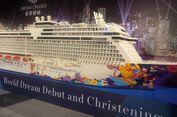 Kapal Pesiar World Dream Resmi Berlayar di Hongkong