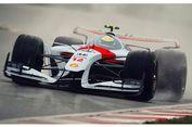 """Tampilan """"Jet Darat"""" Mobil Balap F1 2025"""