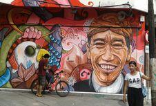 Jokowi hingga Gesang di Galeri Street Art Mural di Solo