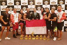 Perbafi Juara Umum di Singapura, Lima Atlet Rebut Pro Card