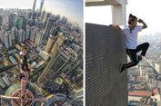 Seniman Penantang Maut di China Tewas Terjatuh dari Gedung 62 Lantai