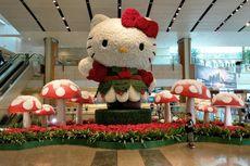 Jelang Akhir Tahun, Hello Kitty and Friends Ramaikan Bandara Changi
