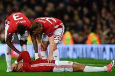 Manchester United ke Semifinal, Ibrahimovic dan Rojo Cedera