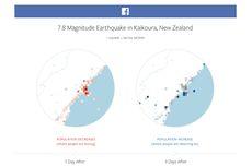 Facebook Bikin Peta Bencana, Bantu Organisasi Sosial Salurkan Bantuan