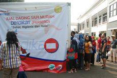 Daging Sapi Dijual Rp 75.000, Warga Bogor Padati Bazar Sembako Murah