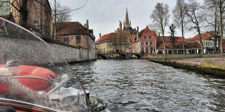 Menyusuri Brugge, Kota Terindah Di Belgia