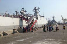 4 Kapal Perang Indonesia dan Thailand Dipamerkan Bersama