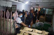 300 Kg Sabu yang Disita di Pluit Dimasukkan ke Mesin Pemoles Sepatu