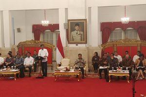Kata Jokowi soal Teguran untuk Para Menteri