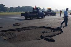 Landasan Terkelupas, Bandara Halim Akan Dibuka Kembali Pukul 13.00 WIB