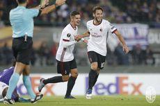 Hasil Pertandingan Grup A-F Liga Europa, AC Milan Menang Telak