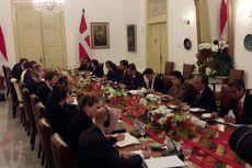 Jokowi Terima PM Denmark di Istana Bogor