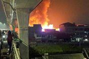 Bocah Ditemukan Hangus Menelungkup di Kebakaran Pasar Kebayoran Lama