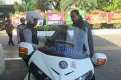 Jalanan Macet, Anies Naik Motor Patwal ke Balai Kota