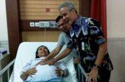 'Ngidam', Ibu HamiI Kembar 4 Gembira Bukan Main Saat Ganjar Elus Perutnya