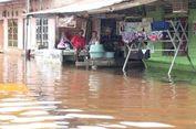 Sungai Siak Me   luap, Ratusan Rumah di Pekanbaru Terendam Banjir