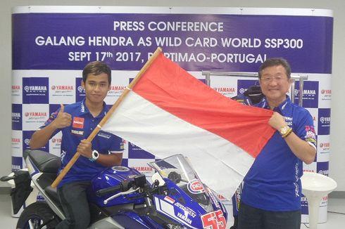 Cara Galang Hendra Persiapkan Diri Jelang World Supersport 300
