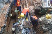 Perbaikan Pipa Bocor di Matraman Milik Aetra Dilakukan Malam Ini