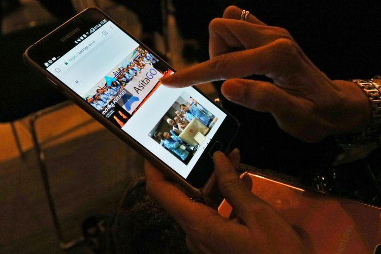 Aplikasi Asita Go yang dikeluarkan Asosiasi Travel Agent Indoneaia (Asita) untuk go digital di tahun 2018.