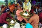 Syukuran Pelantikan Sri Sultan HB X, Warga Gunungkidul Makan Bersama