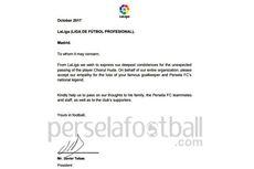 Kirim Surat, La Liga Turut Berdukacita atas Meninggalnya Choirul Huda