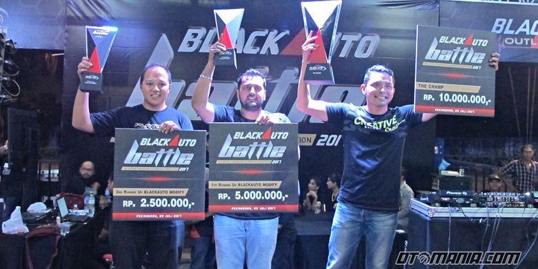 Pemenang Black Auto Battle Pekanbaru 2017