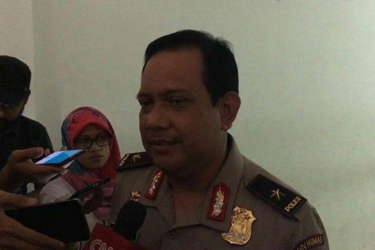 Kepala Biro Penerangan Masyarakat Divisi Humas Polri, Brigjen Rikwanto saat ditemui di Mapolda Metro Jaya, Jumat (7/7/17).