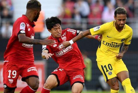 Neymar Gagal Cetak Gol, PSG Menang Tipis atas Dijon