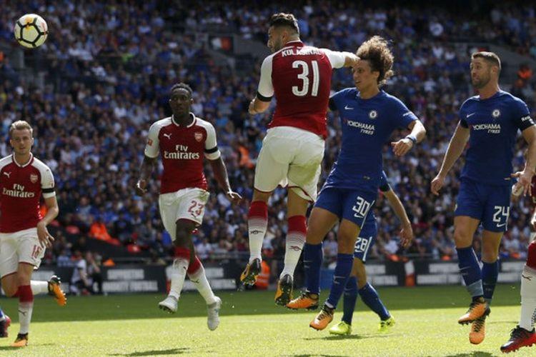 Arsenal berhasil memenangi gelar Community Shield setelah mengalahkan Chelsea dalam drama adu penalti, Minggu (6/8/2017).