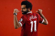 Di Liverpool, Salah Pakai Nomor Kostum