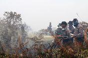 Padamkan Kebakaran Lahan, Polres Aceh Barat Kerahkan 1   00 Personel