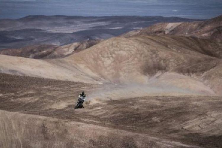 Gurun Atacama di Cile utara mendapat predikat sebagai tempat terkering di dunia.