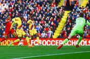 Hasil Liga Inggris, Dwigol Benteke Bikin Liverpool Takluk