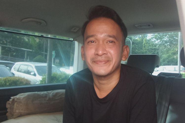 Ruben Onsu dalam wawancara di Rumah Sakit Dr Cipto Mangunkusumo (RSCM), Jakarta Pusat, pada Jumat (7/4/2017).