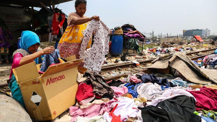Korban Kebakaran Kampung Bandan Berlindung di Pengungsian