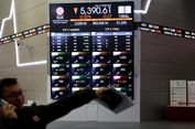 IHSG Ditutup Melorot 15,93 Poin di Jeda Siang