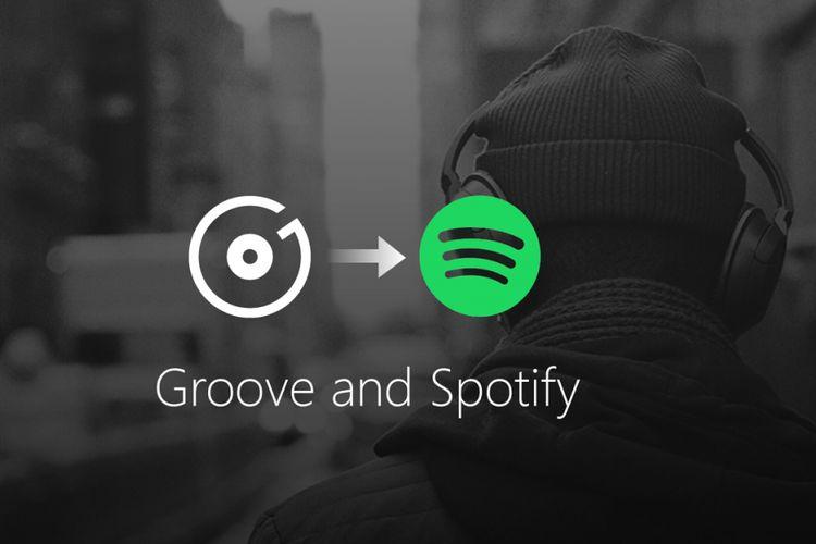 Pelanggan Groove Music disarankan pindah ke Spotify