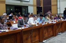 Lima Pimpinan KPK Hadiri Rapat di Komisi III