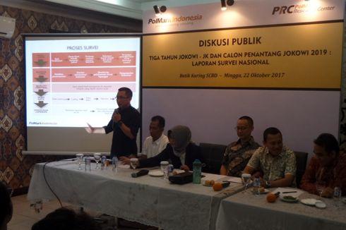 Survei PolMark: Jokowi Dinilai Paling Berhasil Bangun Infrastruktur